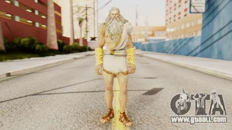 Zeus v2 God Of War 3 for GTA San Andreas second screenshot