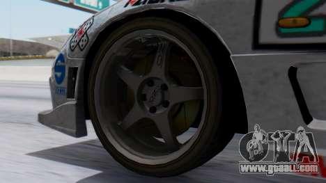 Mazda RX-7 Itasha for GTA San Andreas back left view