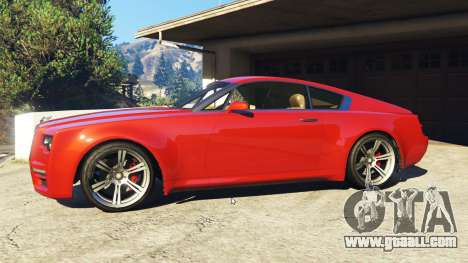 GTA 5 Enus Windsor Rolls Royce Wraith left side view