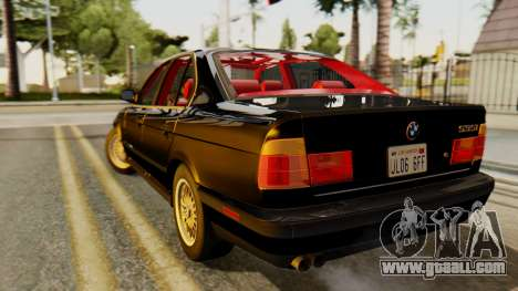 BMW 535i E34 1993 for GTA San Andreas left view