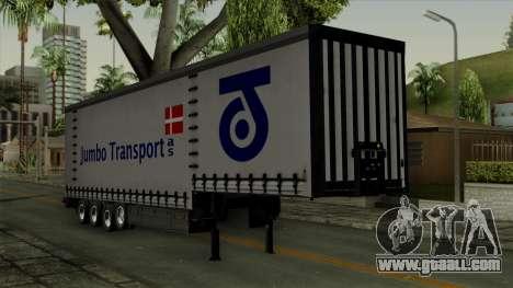 Trailer Krone Profiliner v4 for GTA San Andreas