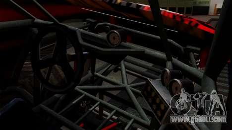 The Seventy Monster v2 for GTA San Andreas inner view