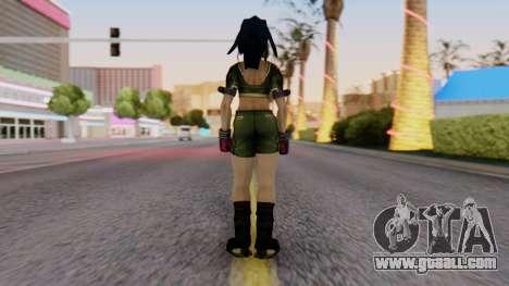 Leona from KoF Maxium Impact for GTA San Andreas third screenshot