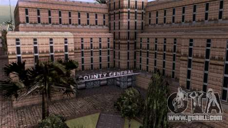 HQ LS Hospital Mipmap 16x for GTA San Andreas third screenshot