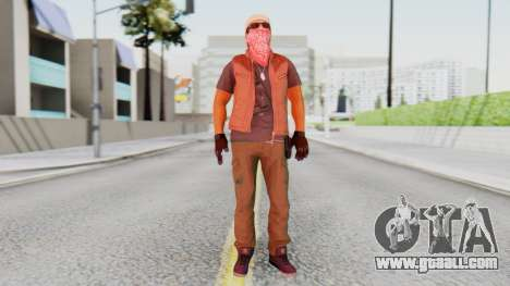 [BF Hardline] Gang Technician for GTA San Andreas second screenshot