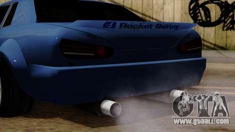 Elegy Rocket Bunny Edition for GTA San Andreas right view
