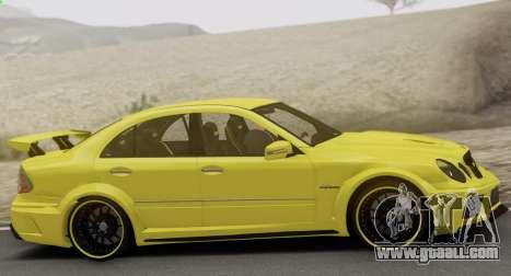 Mercedes-Benz E63 Qart Tuning for GTA San Andreas side view