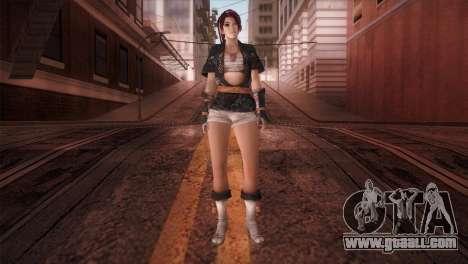 Momiji Kokoro DoA for GTA San Andreas second screenshot
