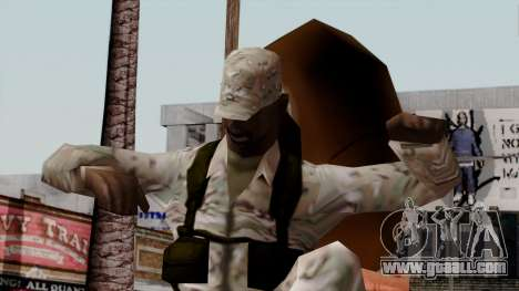 The African American soldier Multicam for GTA San Andreas