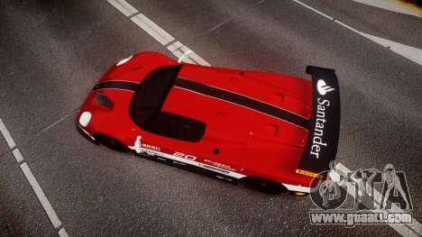 Ferrari F50 GT 1996 Scuderia Ferrari for GTA 4 right view