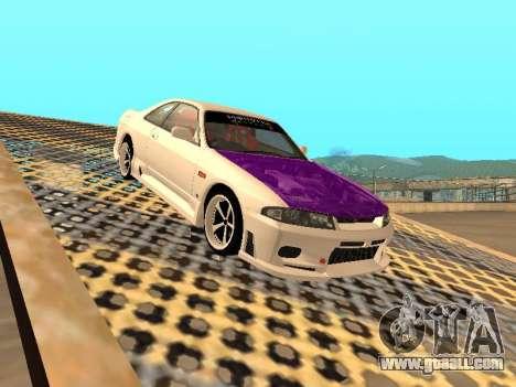 Nissan Skyline R33 Drift Monster Energy JDM for GTA San Andreas interior