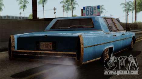 GTA 5 Albany Emperor Worn for GTA San Andreas left view