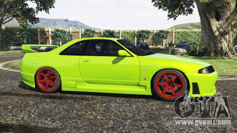 GTA 5 Nissan Skyline BCNR33 [Beta] left side view