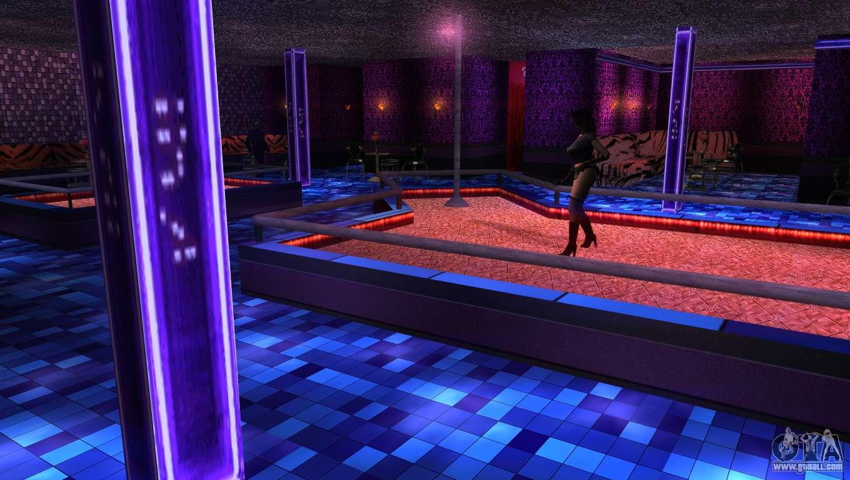Retextured interior strip clubs for GTA San Andreas