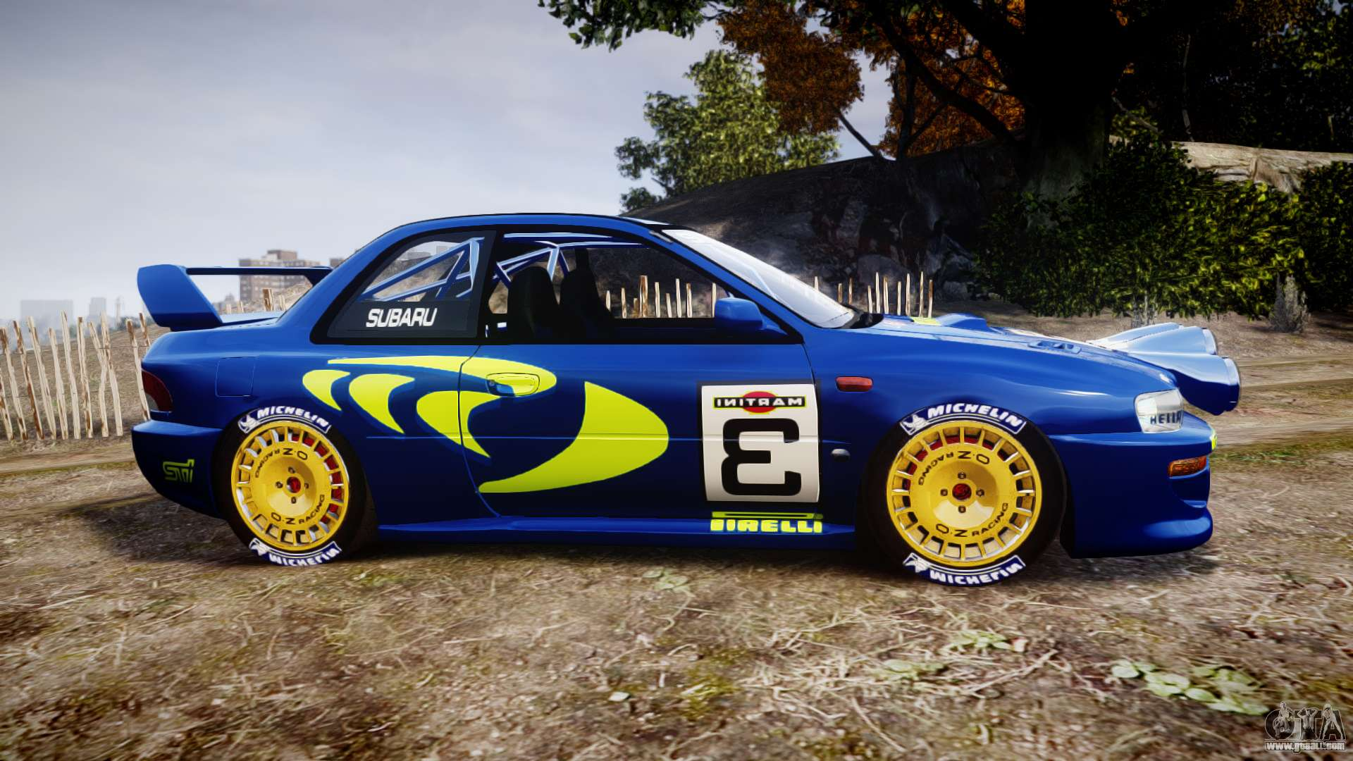 subaru impreza wrc 1998 world rally for gta 4. Black Bedroom Furniture Sets. Home Design Ideas