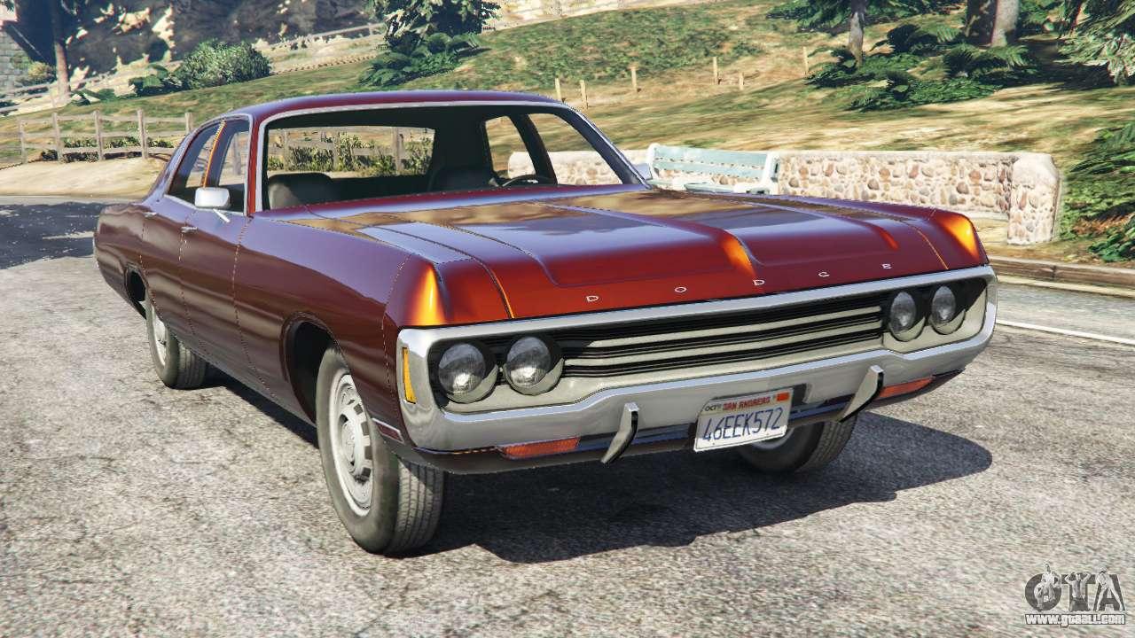 2015 Dodge Neon >> Dodge Polara 1971 for GTA 5
