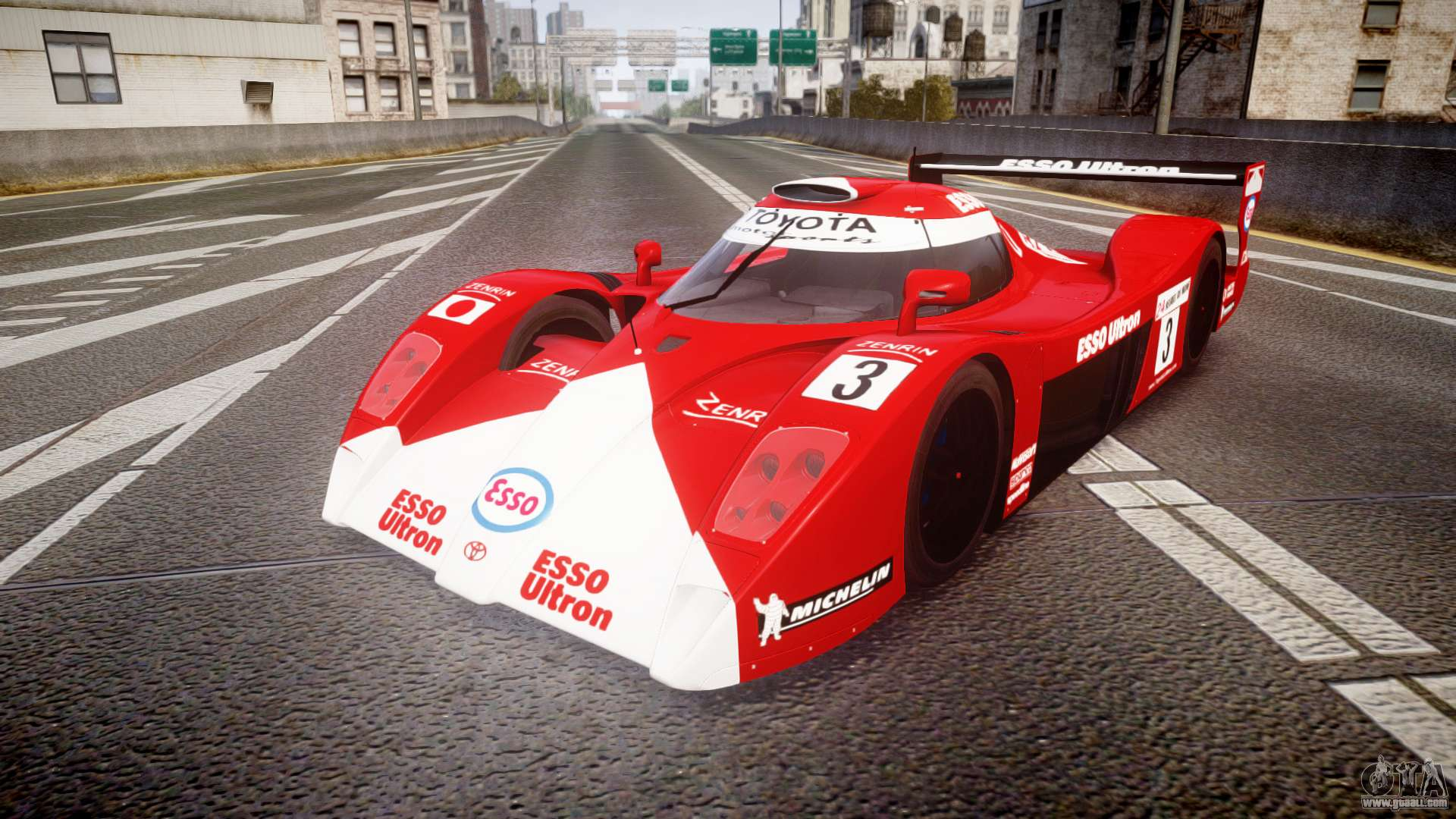 toyota gt one ts020 le mans 1999 for gta 4. Black Bedroom Furniture Sets. Home Design Ideas