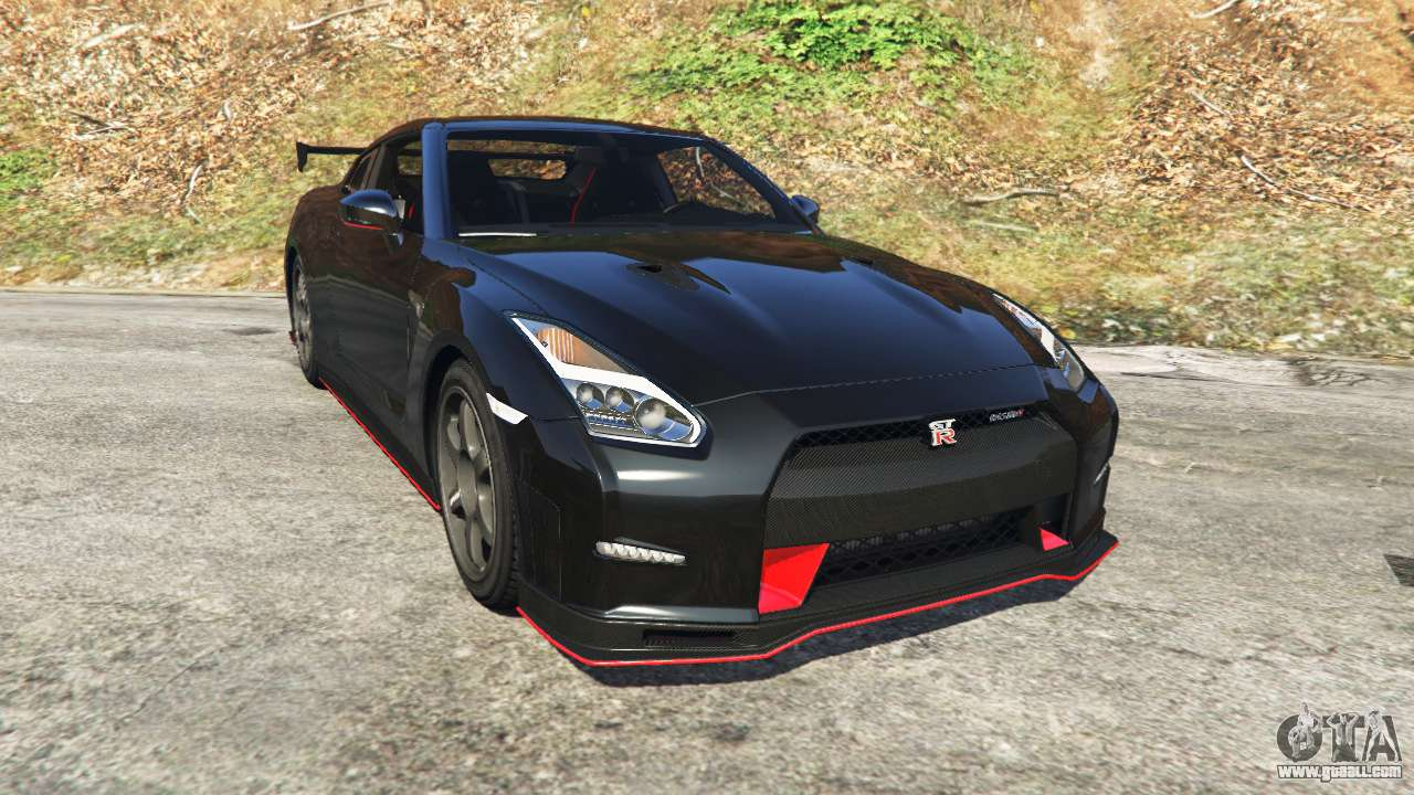 Nissan gt r nismo 2015 for gta 5