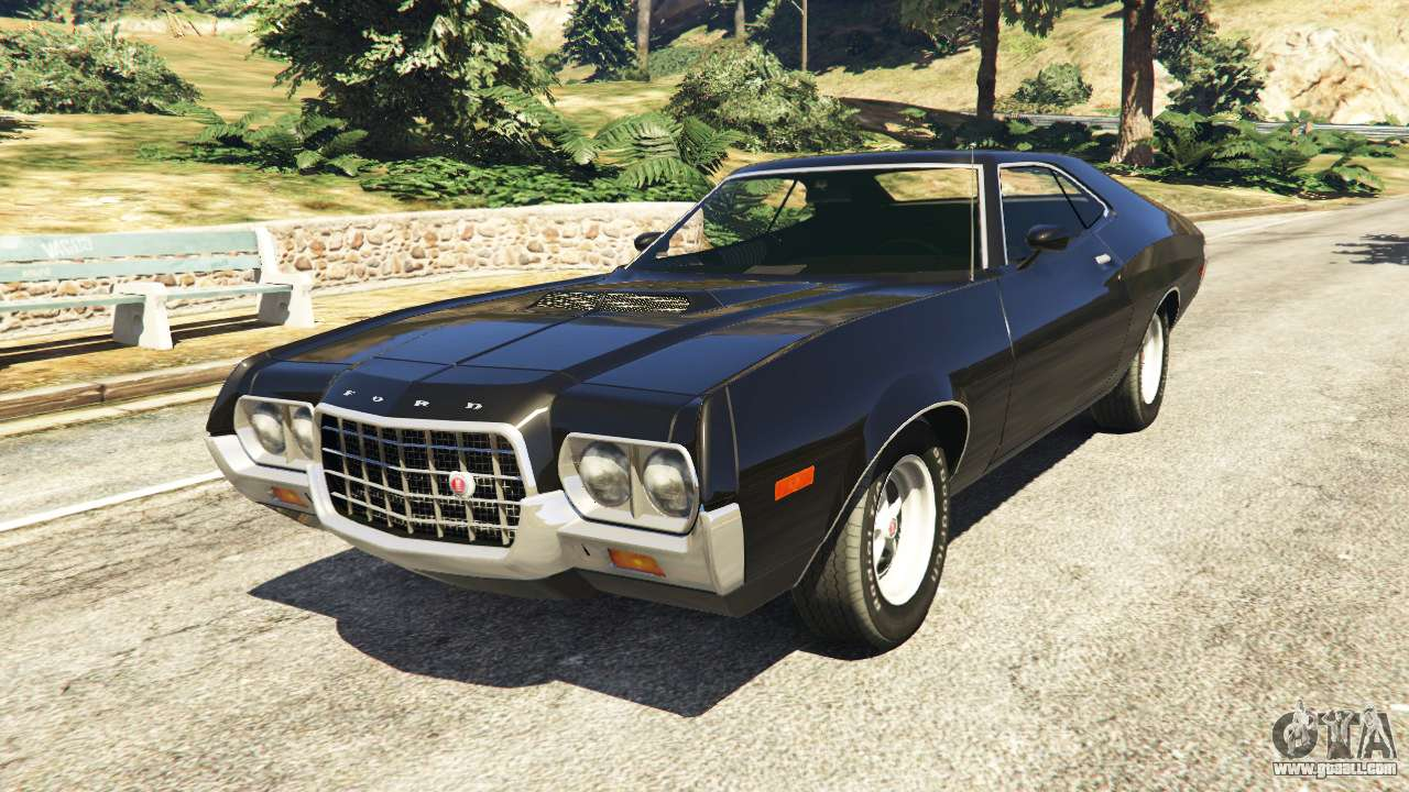 ford gran torino sport 1972 beta for gta 5. Black Bedroom Furniture Sets. Home Design Ideas