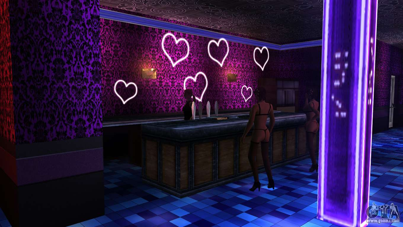 retextured interior strip clubs for gta san andreas. Black Bedroom Furniture Sets. Home Design Ideas
