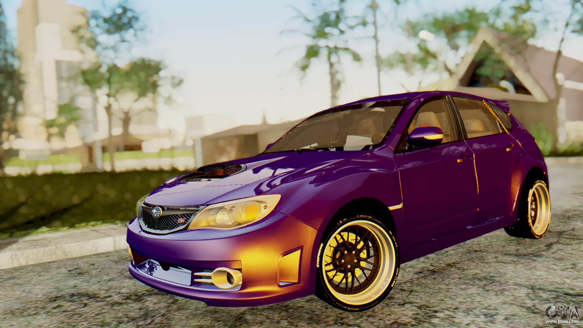 subaru impreza wrx sti 2008 for gta san andreas. Black Bedroom Furniture Sets. Home Design Ideas