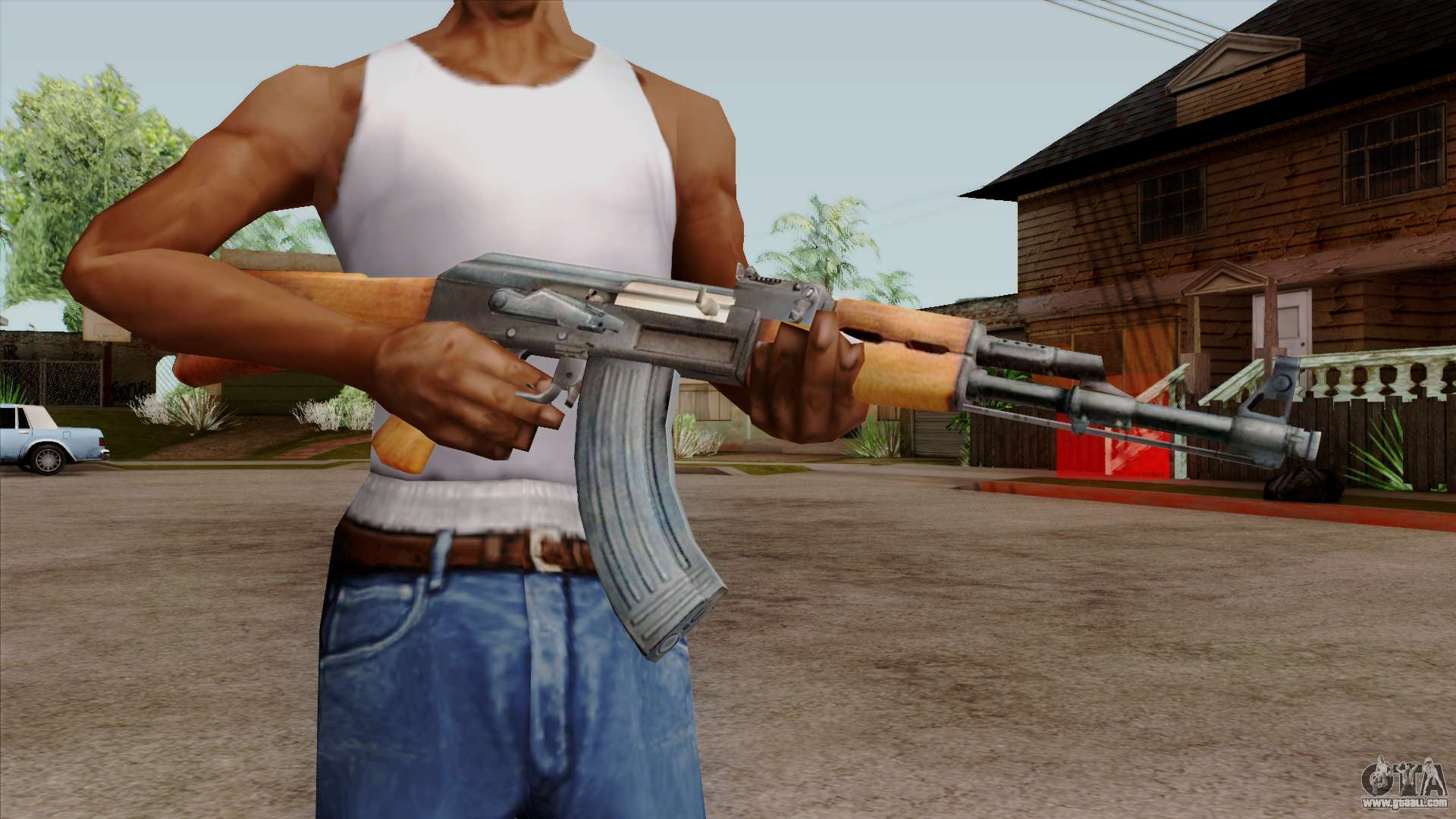 Original Hd Ak 47 For Gta San Andreas