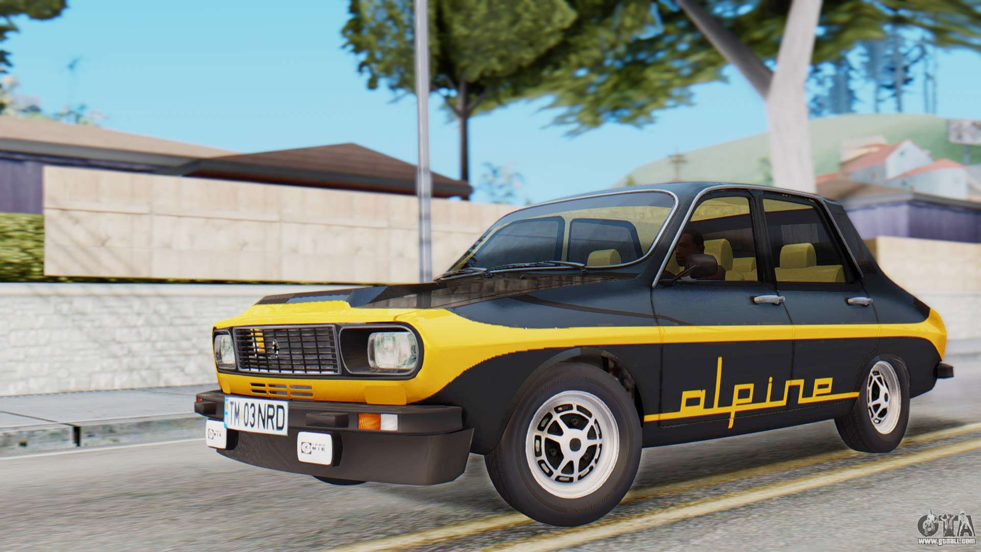 Renault 12 Alpine For Gta San Andreas