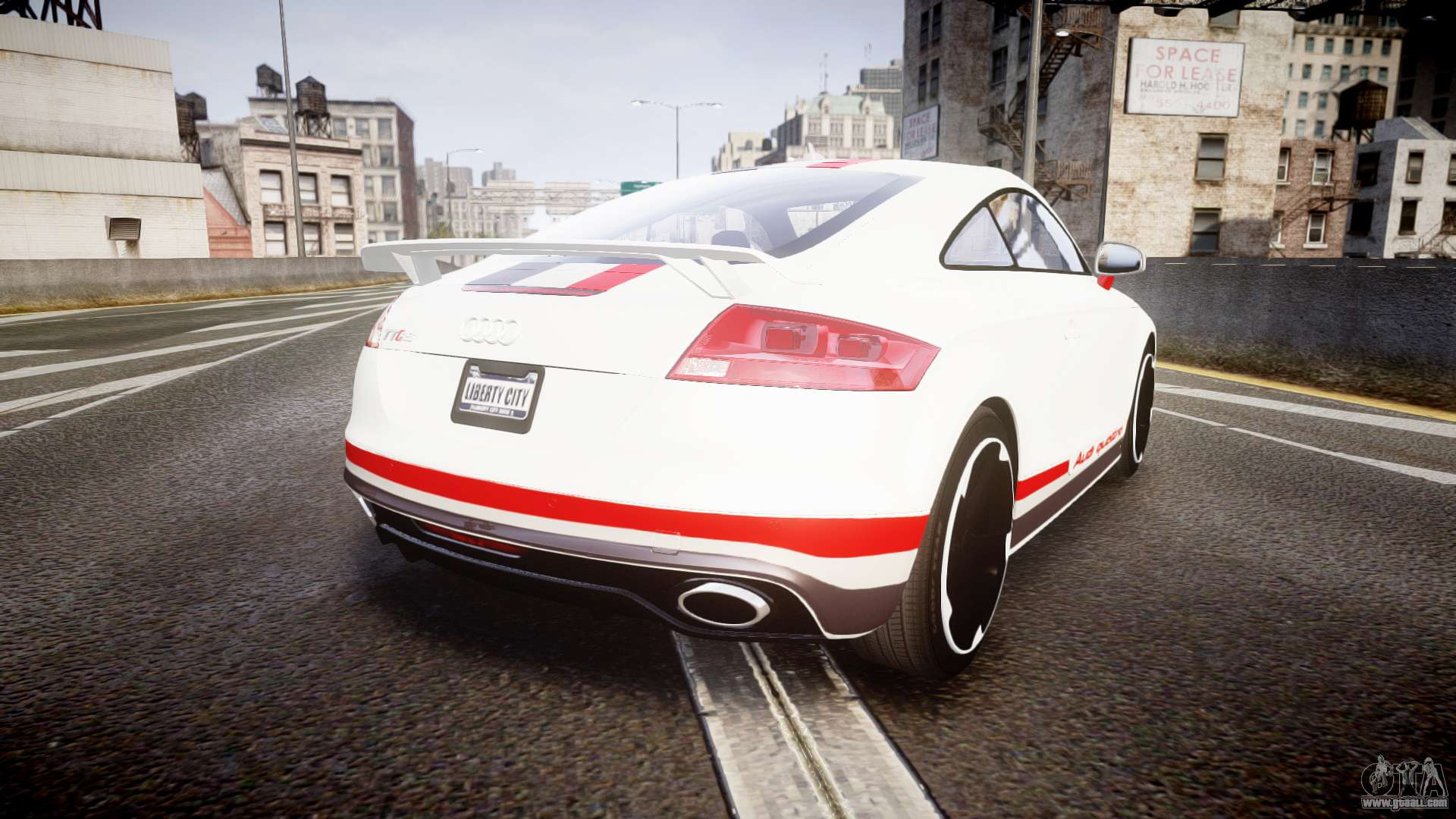 Audi Tt Rs Game: Audi TT RS 2010 Quattro For GTA 4