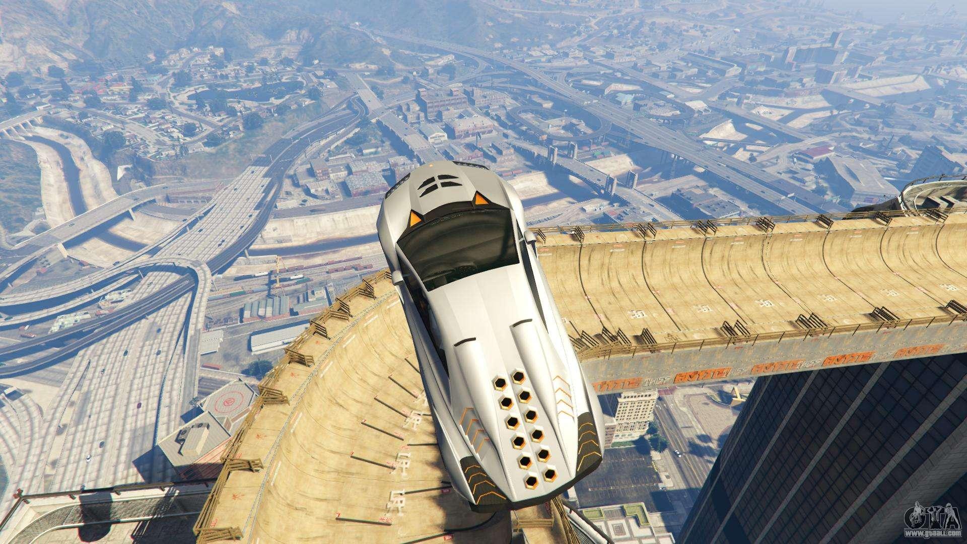 Maze Bank Mega Spiral Ramp for GTA 5