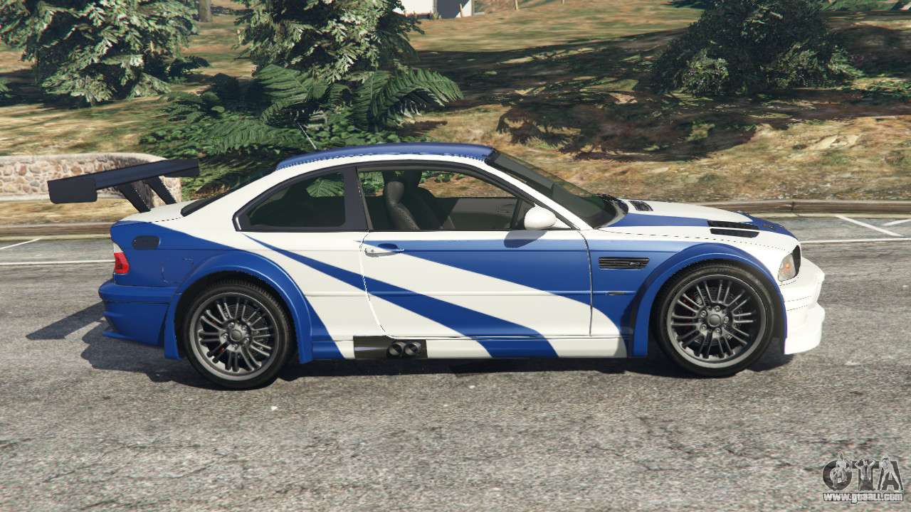 bmw m3 gtr e46 most wanted v1 3 for gta 5. Black Bedroom Furniture Sets. Home Design Ideas