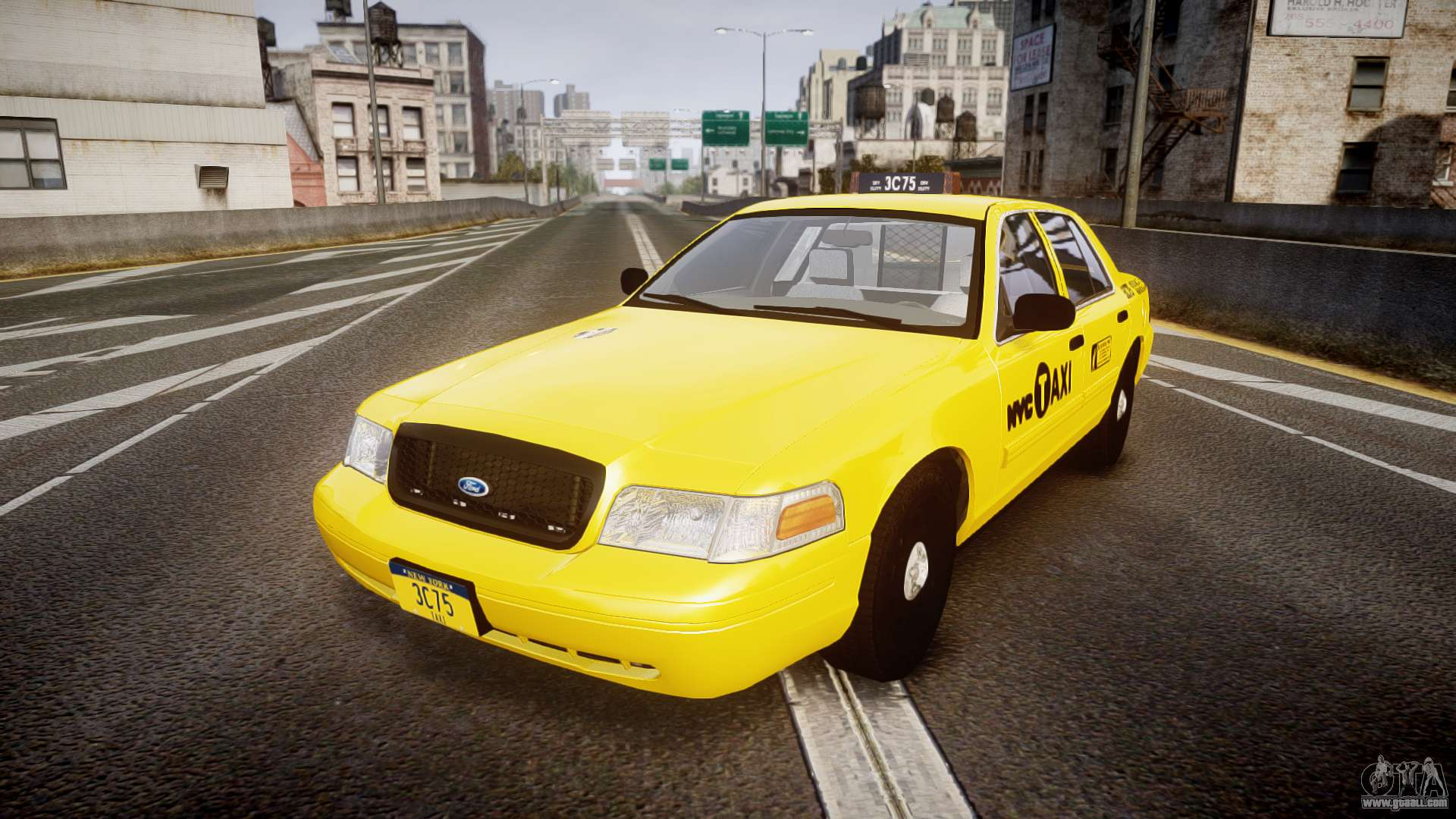 Ford Crown Victoria 2011 NYC Taxi for GTA 4