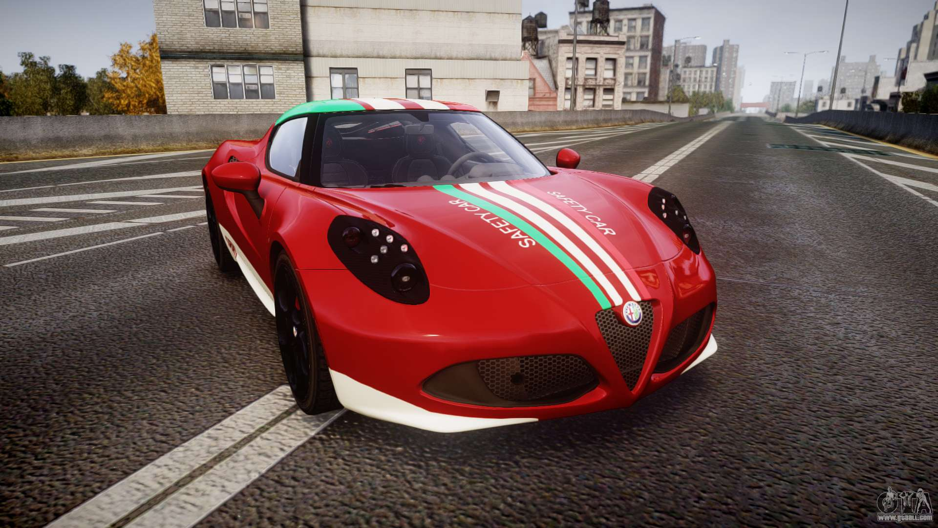 Gtaiv on Alfa Romeo 4c