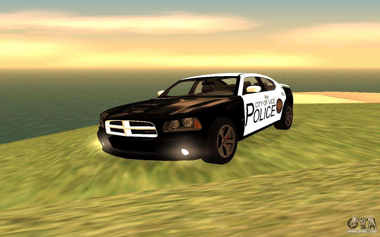 dodge charger super bee 2008 vice city police for gta san. Black Bedroom Furniture Sets. Home Design Ideas