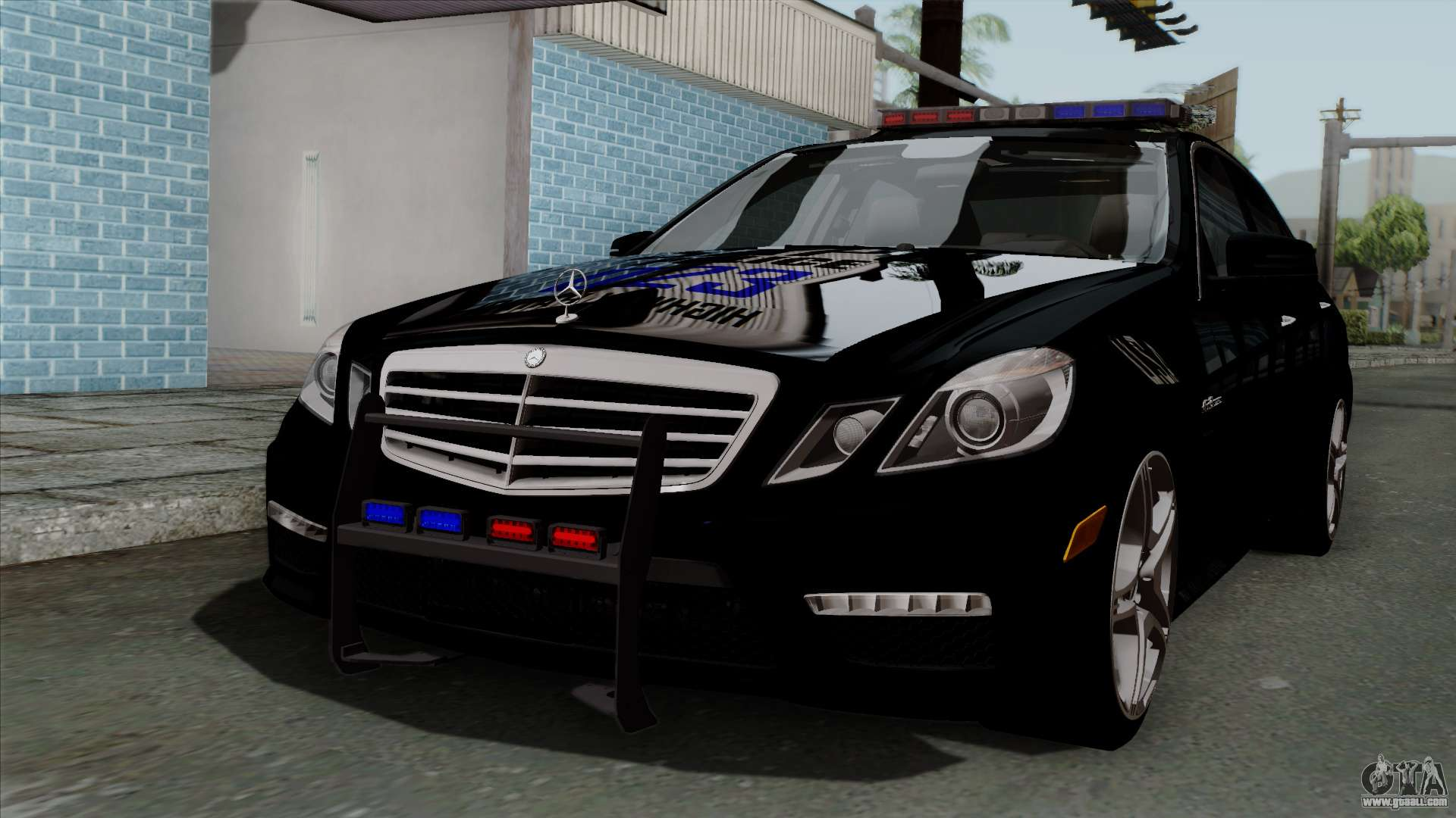 Mercedes Benz E63 Amg Police Edition For Gta San Andreas