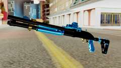 Fulmicotone Chromegun for GTA San Andreas
