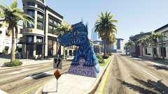 Statue Dragon Ilusion