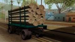 GTA 5 Fieldmaster Wood Trailer for GTA San Andreas