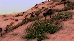 Real texture vegetation
