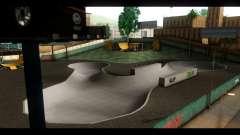 Hospital and skate Park