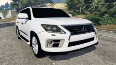 Lexus LX 570 2014 for GTA 5