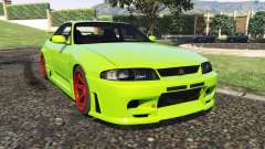 Nissan Skyline BCNR33 [Beta] for GTA 5