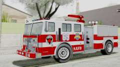 MTL SAFD Firetruck Flat Shadow for GTA San Andreas