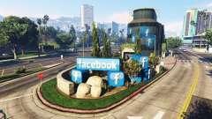 Building social network Facebook for GTA 5