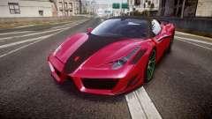 Ferrari 458 Italia Mansory Siracusa 2011 for GTA 4