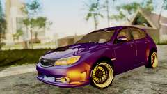 Subaru Impreza WRX STI 2008 for GTA San Andreas