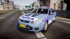 Ford Falcon FG XR6 Turbo NSW Police [ELS] v2.0