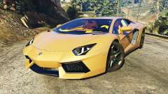 Lamborghini Aventador LP700-4 v0.1 for GTA 5
