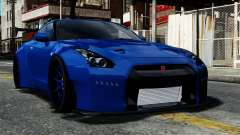 Nissan GT-R R35 Liberty Walk for GTA 4