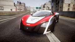 Marussia B2 2012 Jules for GTA 4