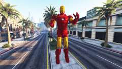 The statue of iron man for GTA 5